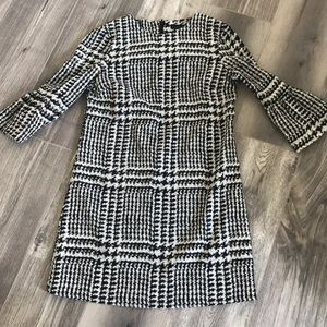 Zara dress with bell sleeves
